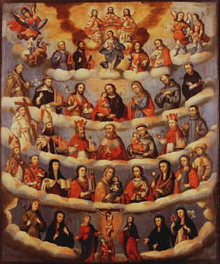 Litany of the Saints for post for Solemnity of All Saints